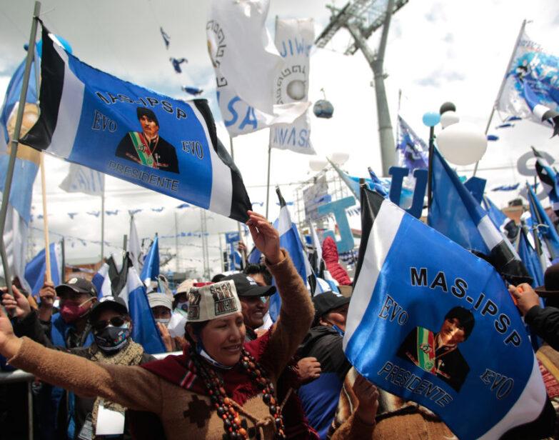 Triunfo del MAS en Bolivia