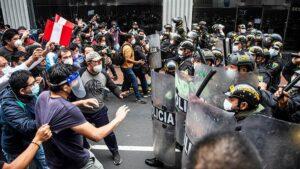 Movilizaciones en Perú