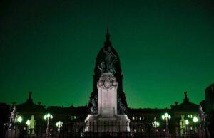 Marea verde en el Congreso argentino